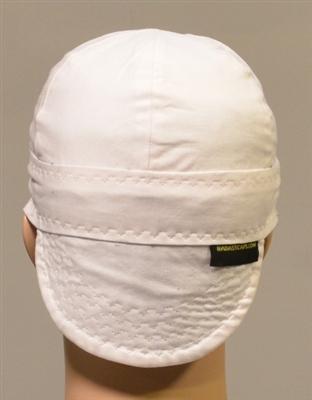 White Welding Hats